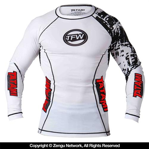 Tatami Tatami Long Sleeve Flex Rashguard -  White